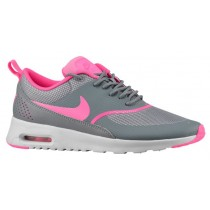 Nike Air Max Thea Femmes chaussures de course gris/rose HYL430