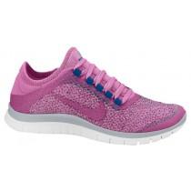 Nike Free 3.0 V5 Ext Femmes chaussures de sport rose/bleu PCH900