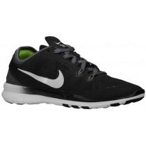 Nike Free 5.0 TR Fit 5 Femmes chaussures de course noir/gris NCU842