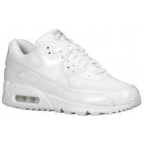 Nike Air Max 90 Femmes baskets Tout blanc/blanc GQO567