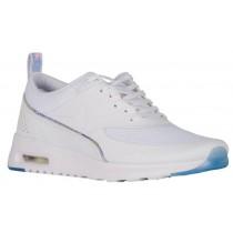 Nike Air Max Thea Femmes chaussures de course blanc/bleu clair QBV659