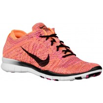 Nike Free TR 5 Flyknit Femmes sneakers Orange/rose FWC680