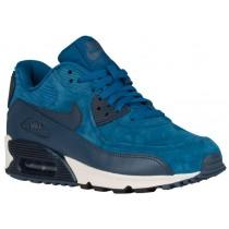 Nike Air Max 90 Femmes chaussures de sport bleu clair/bleu GOA218