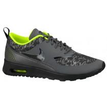 Nike Air Max Thea Femmes baskets gris/vert clair YZN386