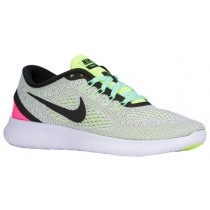 Nike Free RN Femmes baskets blanc/noir MEA379