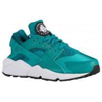 Nike Air Huarache Femmes chaussures de course vert clair/noir RWT124
