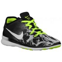 Nike Free 5.0 TR Fit 5 Femmes baskets noir/vert clair TLO346
