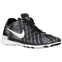 Nike Free 5.0 TR Fit 5 Femmes chaussures noir/blanc AHF219