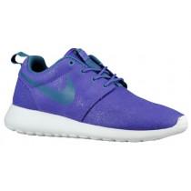 Nike Roshe One Print Femmes chaussures de course violet/blanc FGZ728