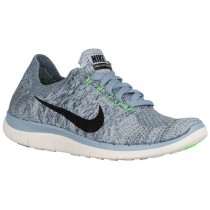 Nike Free 4.0 Flyknit Femmes chaussures de sport gris/noir CDL146
