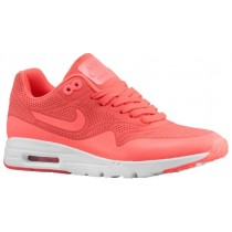 Nike Air Max 1 Ultra Moire Femmes chaussures de sport rose/blanc ZCQ718