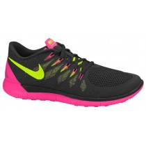 Nike Free 5.0 2014 Femmes sneakers noir/rose MLN728