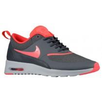 Nike Air Max Thea Femmes chaussures de course gris/rouge CBJ634