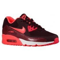 Nike Air Max 90 Femmes chaussures de sport bordeaux/rouge ZZR061