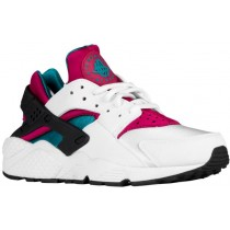 Nike Air Huarache Femmes sneakers blanc/rose AUG235
