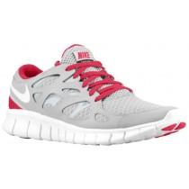 Nike Free Run + 2 Femmes sneakers gris/blanc BCJ101