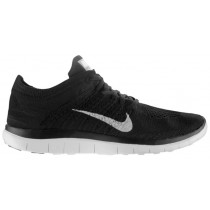 Nike Free 4.0 Flyknit Femmes chaussures noir/gris DIO214