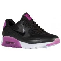 Nike Air Max 90 Ultra Femmes chaussures de sport noir/violet QZU905