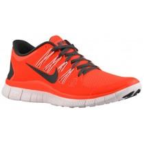 Nike Free 5.0+ Femmes chaussures de course rouge/noir UNL630