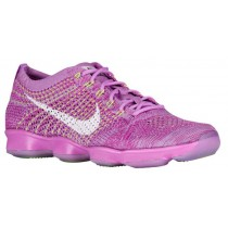 Nike Flyknit Zoom Agility Femmes chaussures violet/gris UJT163
