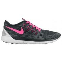 Nike Free 5.0 2014 Femmes baskets gris/rose MDN545