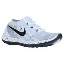 Nike Free 3.0 Flyknit Femmes sneakers blanc/noir FUQ091