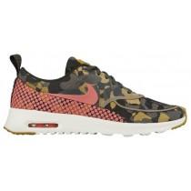Nike Air Max Thea Femmes chaussures de course olive verte/noir PXX108