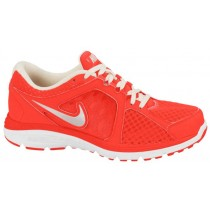 Nike Dual Fusion Run Breathe Femmes sneakers Orange/blanc SHK091