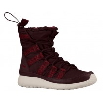 Nike Roshe One Hi Sneakerboot Femmes baskets bordeaux/rouge NWG151