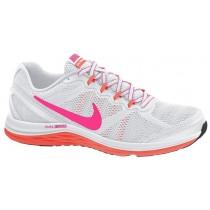 Nike Dual Fusion Run 3 Femmes chaussures de course blanc/gris HYS996