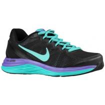 Nike Dual Fusion Run 3 Femmes baskets noir/vert clair BGA346