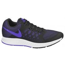 Nike Air Pegasus 31 Femmes chaussures noir/violet YVJ724