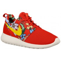 Nike Roshe One Aloha Print Femmes chaussures de course rouge/blanc NFS572