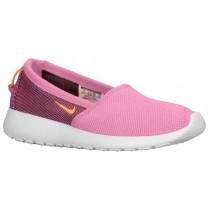 Nike Roshe One Slip Femmes baskets rose/blanc FJJ189
