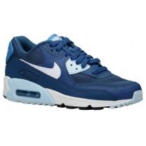 Nike Air Max 90 Femmes chaussures de course bleu marin/bleu clair VMA620