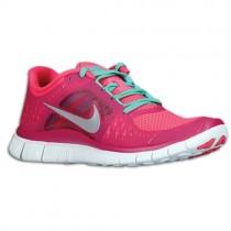 Nike Free Run + 3 Femmes baskets rose/argenté YUV912