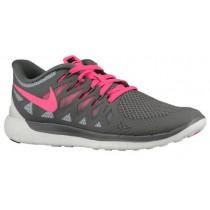 Nike Free 5.0 2014 Femmes baskets gris/blanc WAX180