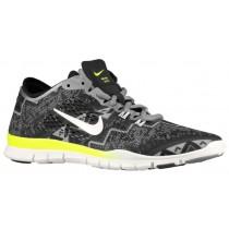 Nike Free 5.0 TR Fit 4 Femmes chaussures de course noir/gris OKK193