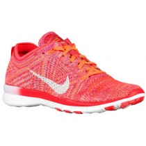 Nike Free TR 5 Flyknit Femmes chaussures Orange/rose AHZ393