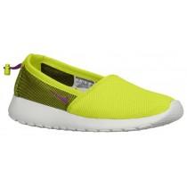 Nike Roshe One Slip Femmes chaussures vert clair/blanc VCI839