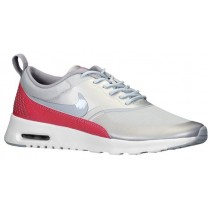 Nike Air Max Thea Femmes sneakers gris/rouge DLL527