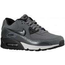 Nike Air Max 90 Femmes chaussures de course gris/noir LQL475