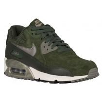 Nike Air Max 90 Femmes chaussures vert/vert foncé WWY646