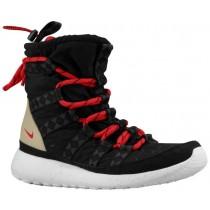 Nike Roshe One Hi Sneakerboot Print Femmes chaussures noir/blanc PEG195