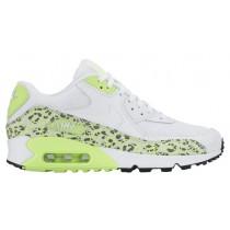 Nike Air Max 90 Femmes chaussures blanc/vert clair MUY653