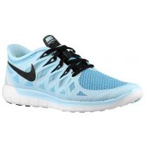 Nike Free 5.0 2014 Femmes sneakers bleu clair/noir DPZ411