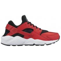 Nike Air Huarache Femmes chaussures de course rouge/noir QLI390