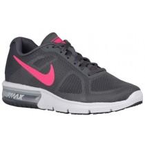 Nike Air Max Sequent Femmes chaussures de sport gris/blanc PNQ717