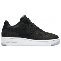 Nike Air Force 1 Low Flyknit Femmes baskets noir/blanc DDF281