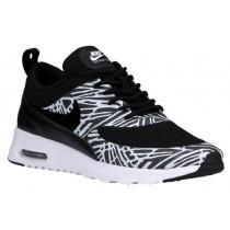 Nike Air Max Thea Femmes chaussures de course noir/blanc WKM311